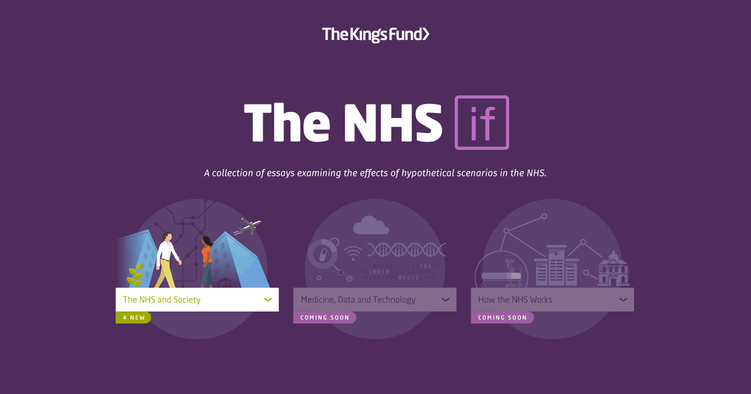 the nhs if essays on the future of health and care the king s fund