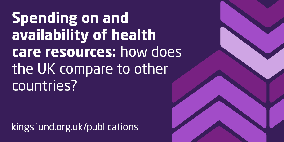 Spending on and availability of health care resources | The