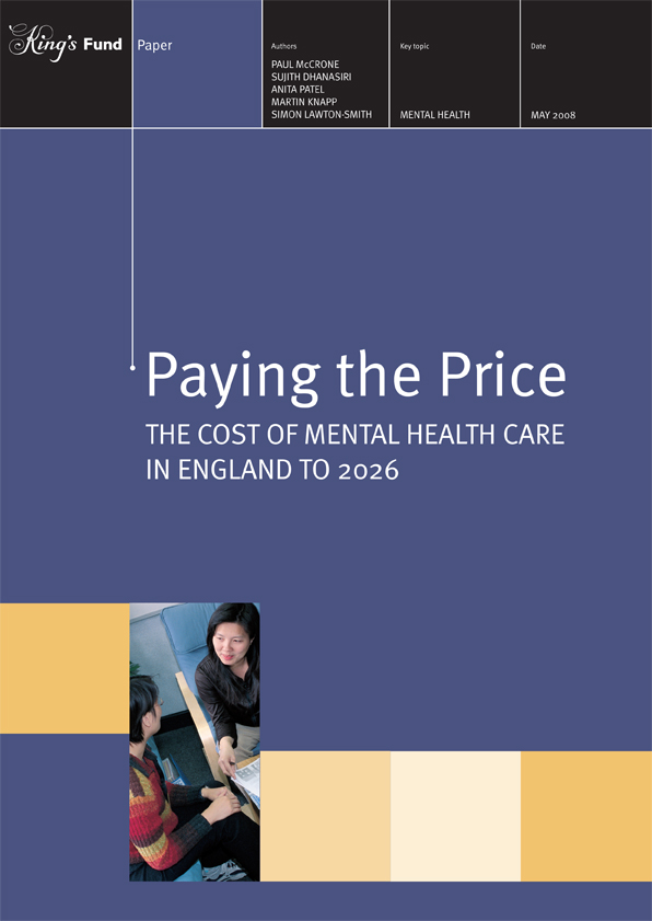 Paying the price cost mental health care paper may08