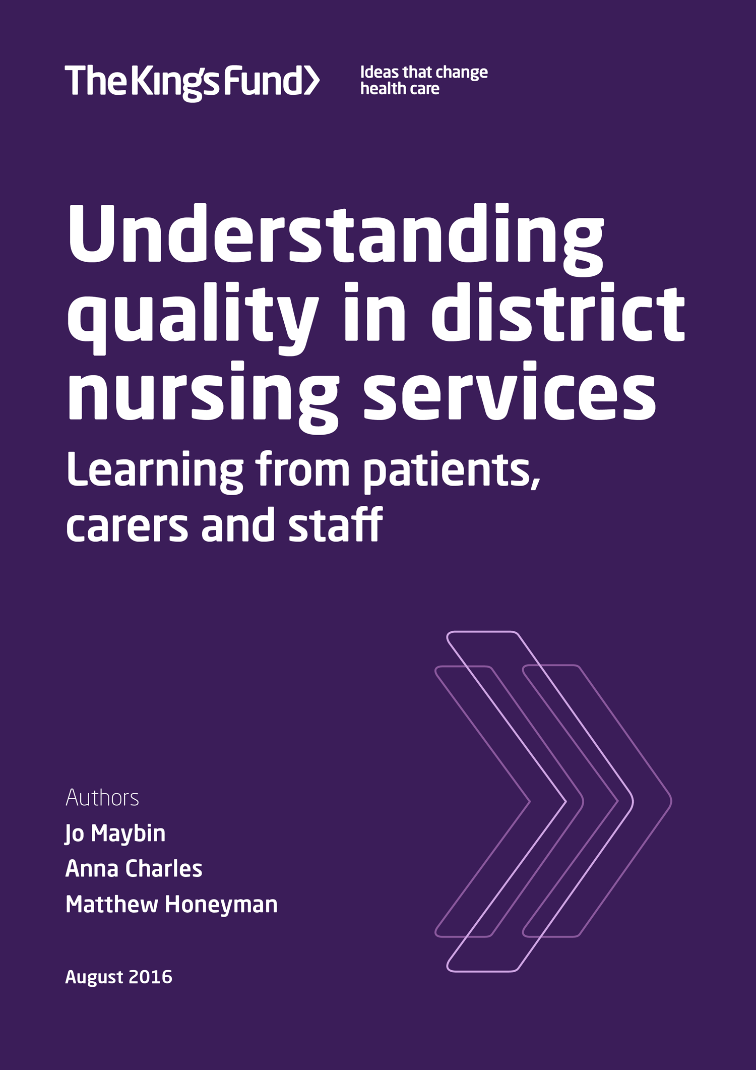 How are District Nurses in the UK funded?