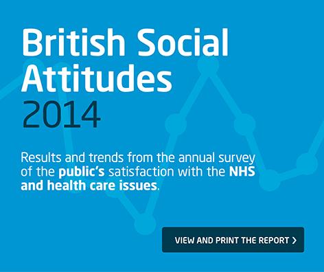 British Social Attitudes 2014