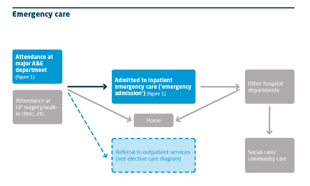 Emergency care chart