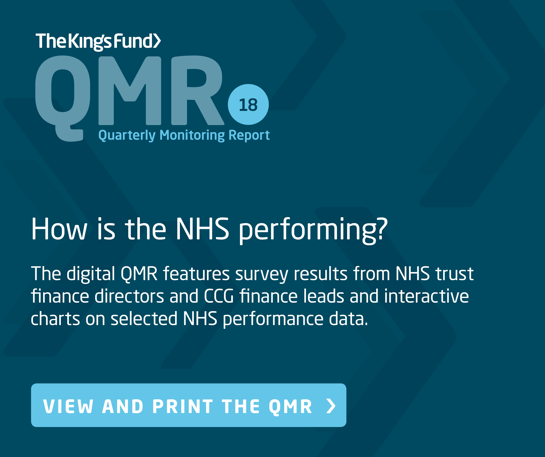Quarterly monitoring report
