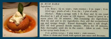 Rum baba recipe