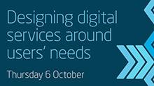 Designing digital services around users' needs