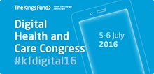 Book now for our Digital Health and Care Congress 2016
