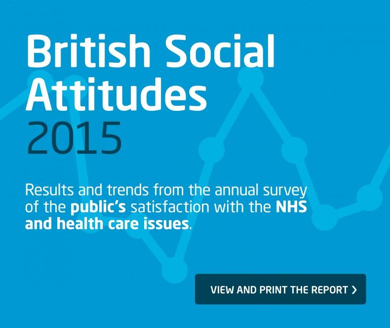 British Social Attitudes 2015