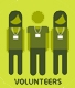 Volunteers infographic - graphical teaser