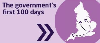 The government's first 100 days