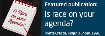 Is race on your agenda?