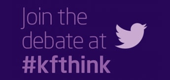 How can technology help to empower patients? Have your say on Twitter using #kfthink.