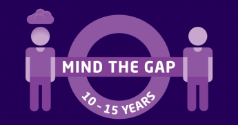 Mind the gap graphic