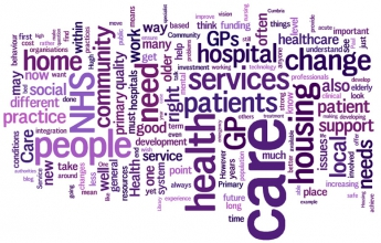 Words used to describe the relocation of care