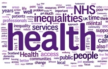 Words showing the comments on our public health blogs