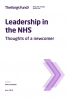 Leadership in the NHS - Thoughts of a newcomer