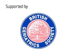 Supported by British Geriatrics Society