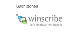 VIP lunch sponsor Winscribe