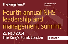 Fourth annual NHS leadership and management summit