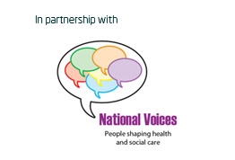 In partnership with National Voices