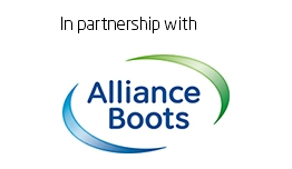 In partnership with Alliance Boots