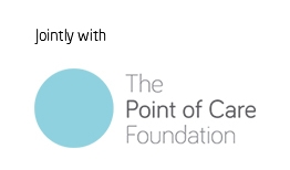 Jointly with The Point of Care Foundation