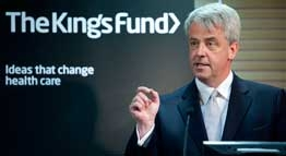 Andrew Lansley speaking at the NHS Leadership and Management Summit 2011.