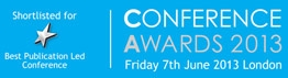 Conference Awards Shortlist - Best publication led conference