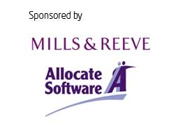 Mills and Reeve logo and Allocate Software logo