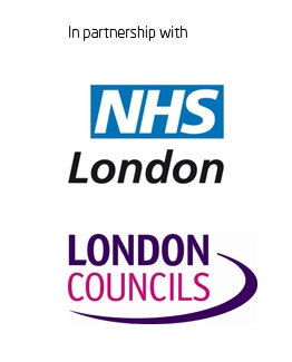NHS London and London Councils logos