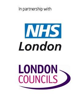 NHS London and London Councils logos