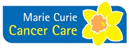 The logo for Marie Curie Cancer Care