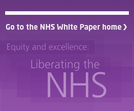 Return to the NHS White paper homepage
