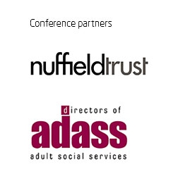Conference partners Nuffield Trust and Association of Directors of Adult Social Services