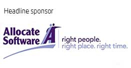 Headline sponsor Allocate Software