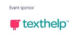 Event sponsor texthelp