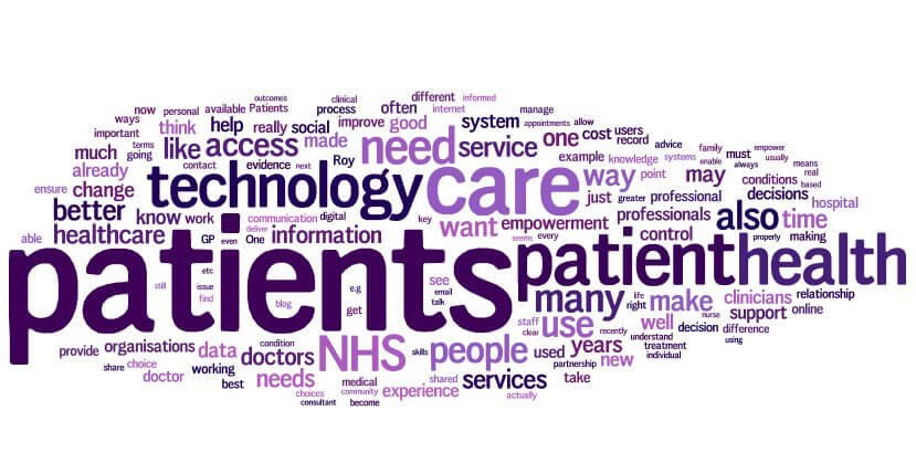 Wordle for the empowered patient