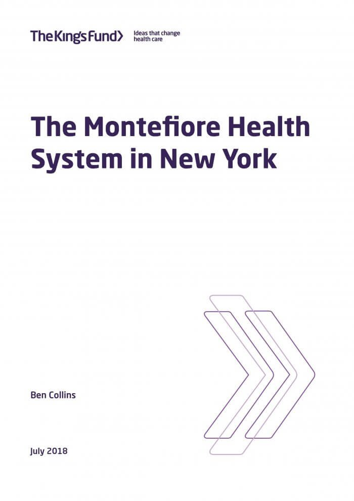 The Montefiore Health System in New York: a case study | The