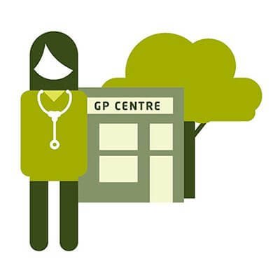 GP outside GP centre