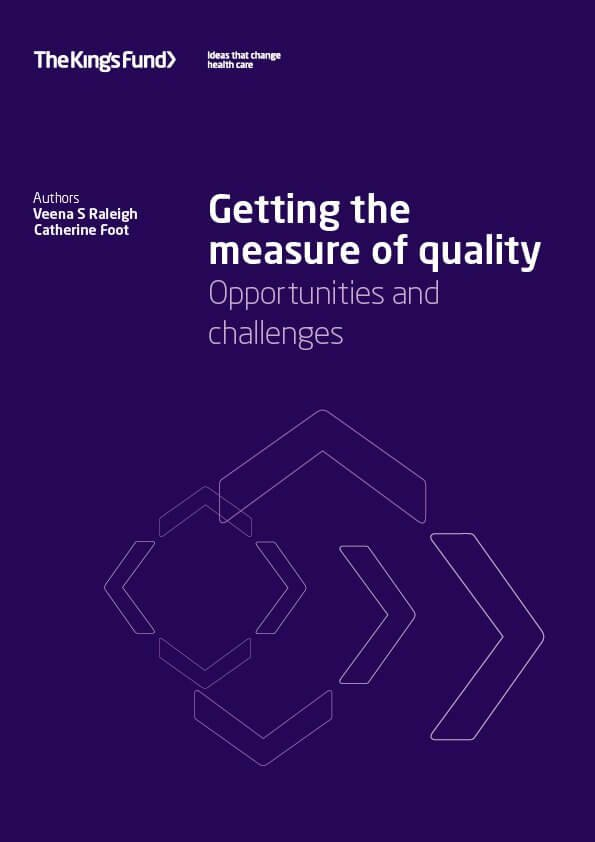 Getting the measure of quality