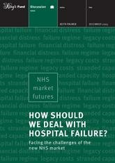 How should we deal with hospital failure report front cover