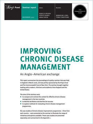 Improving chronic disease management