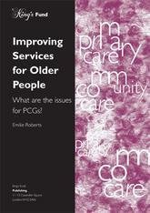 Improving services for older people front cover