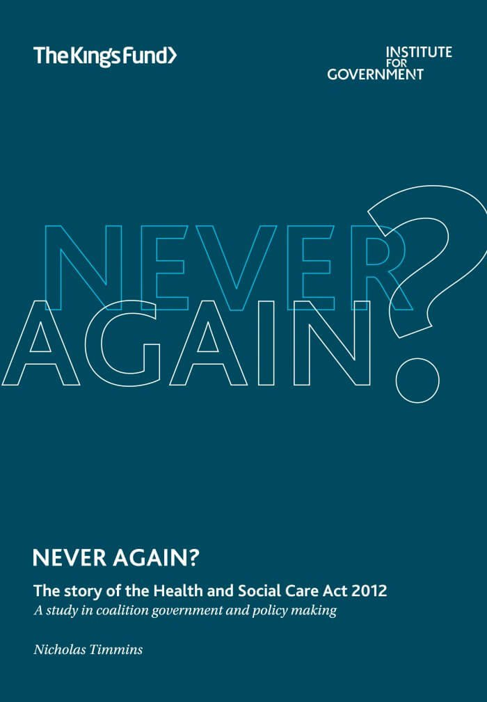 Never-Again-Health-and-social-care-act-2012-book-cover