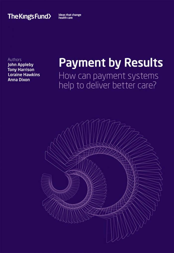 Payment by results report front cover