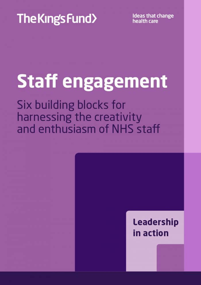 Staff engagement publication