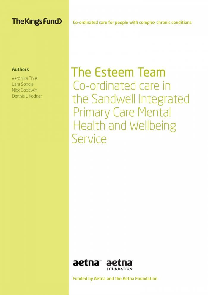 The Esteem Team front cover