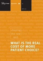 What is the real cost of more patient care report front cover
