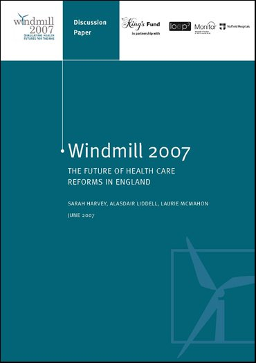 Windmill 2007 report front cover