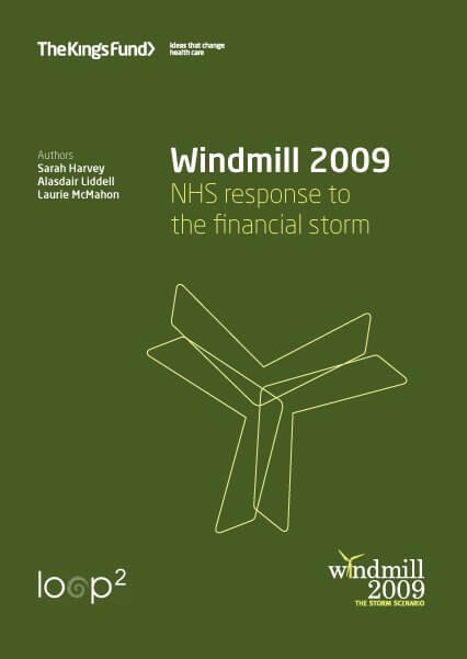 Windmill 2009 report front cover