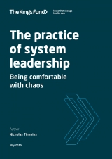 The practice of system leadership - Being comfortable with chaos | by Nicholas Timmins